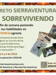 "Reto Sierraventura: ""SOBREVIVIENDO"""